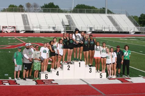 Girls Varsity Track takes second at state